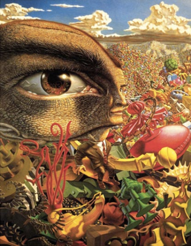 """In the Land of Retinal Delights"" by Robert Williams"